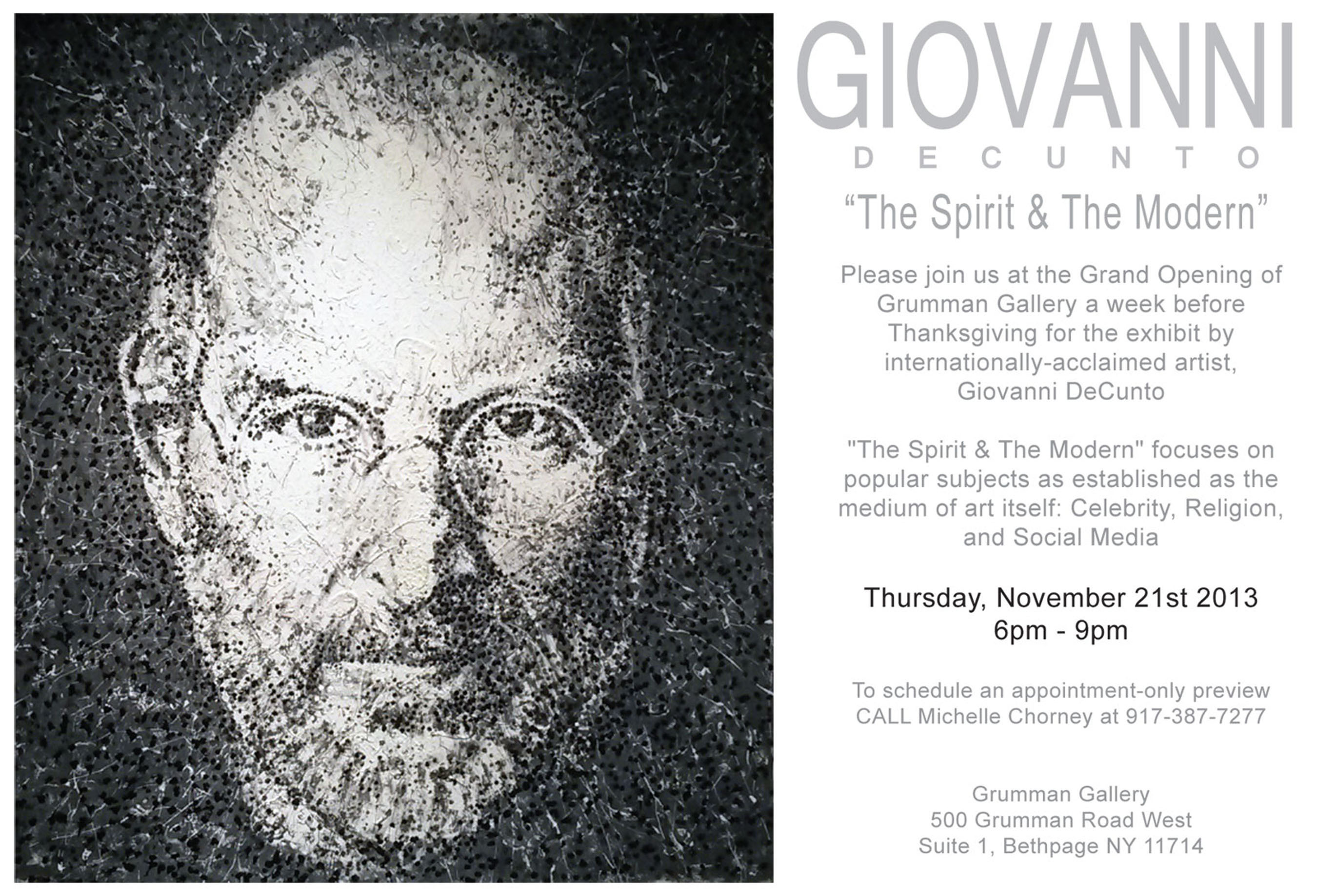 Grumman Gallery Grand Opening Invitation. (PRNewsFoto/Grumman Gallery) (PRNewsFoto/GRUMMAN GALLERY)
