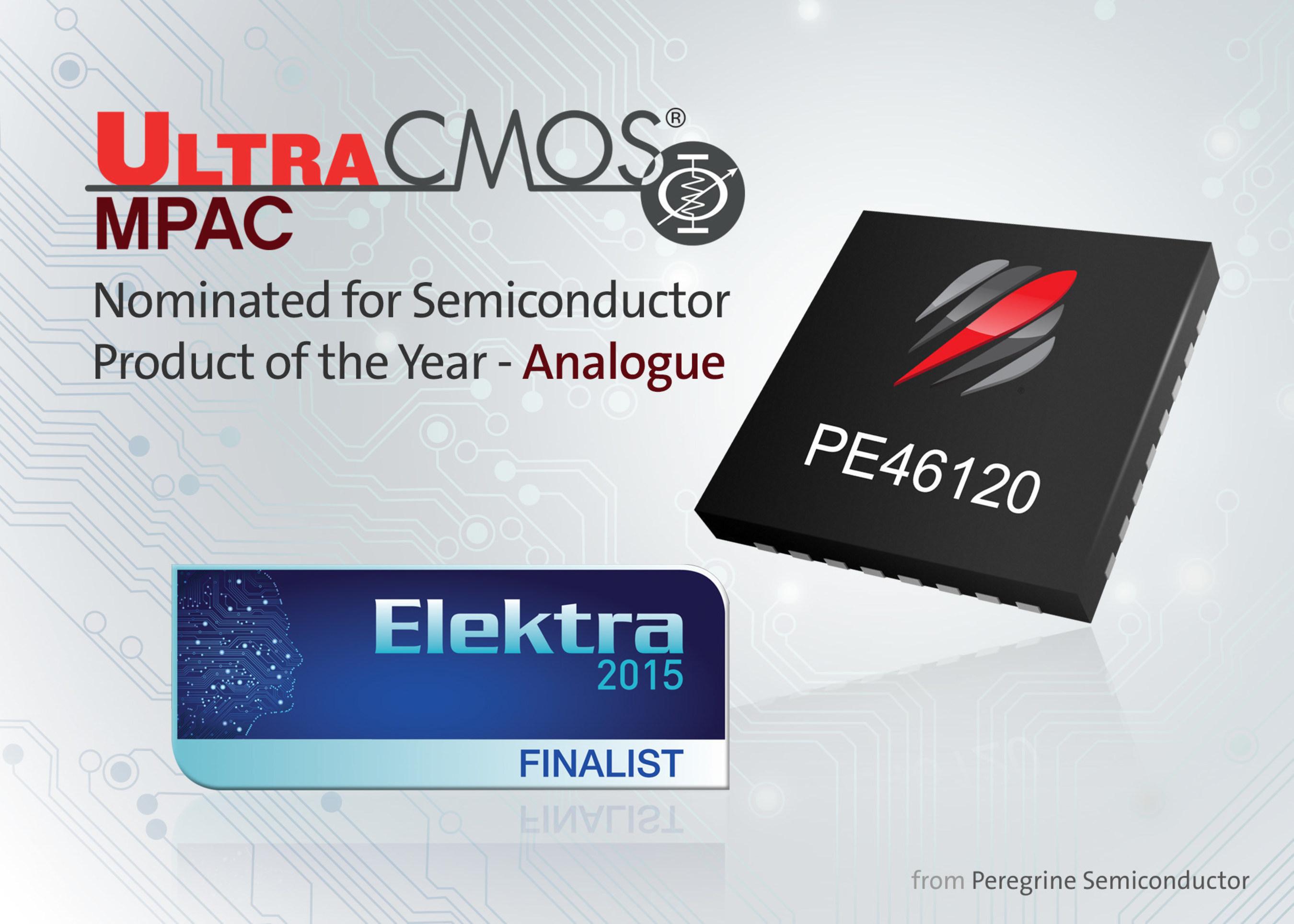 Peregrine Semiconductor Named Finalist in Elektra Awards