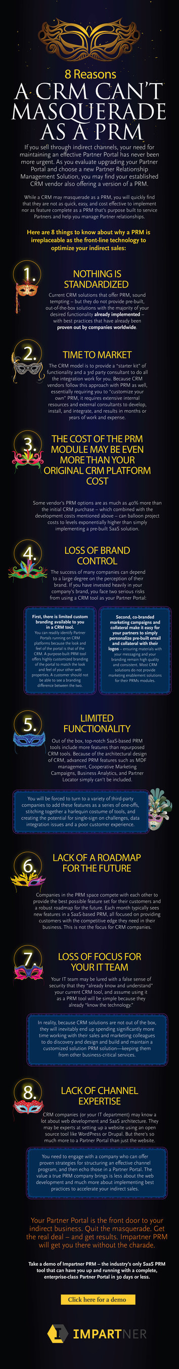 SaaS Partner Relationship Management Leader Impartner Outlines Eight Key Reasons CRMs Can't Masquerade as PRMs