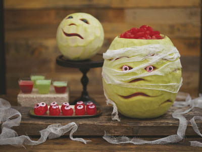 Photo courtesy of National Watermelon Board scary pumpkins