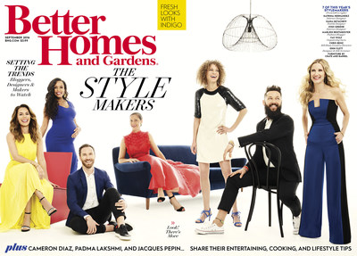 better homes and gardens magazine unveils sixth annual september