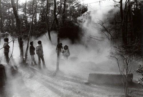 "BMW Tate Live 2017: Fujiko Nakaya ""Fogfalls #47626, Showa Kinen Park"" (1982), copyright Fujiko Nakaya, photo courtesy Fujiko Nakaya. (PRNewsFoto/BMW Group)"