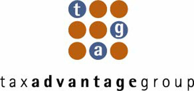 Tax Advantage Group (tag) logo.  (PRNewsFoto/Tax Advantage Group)