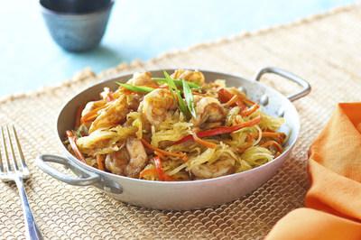 Photo courtesy of McCormick Spice Spaghetti Squash Shrimp Lo Mein
