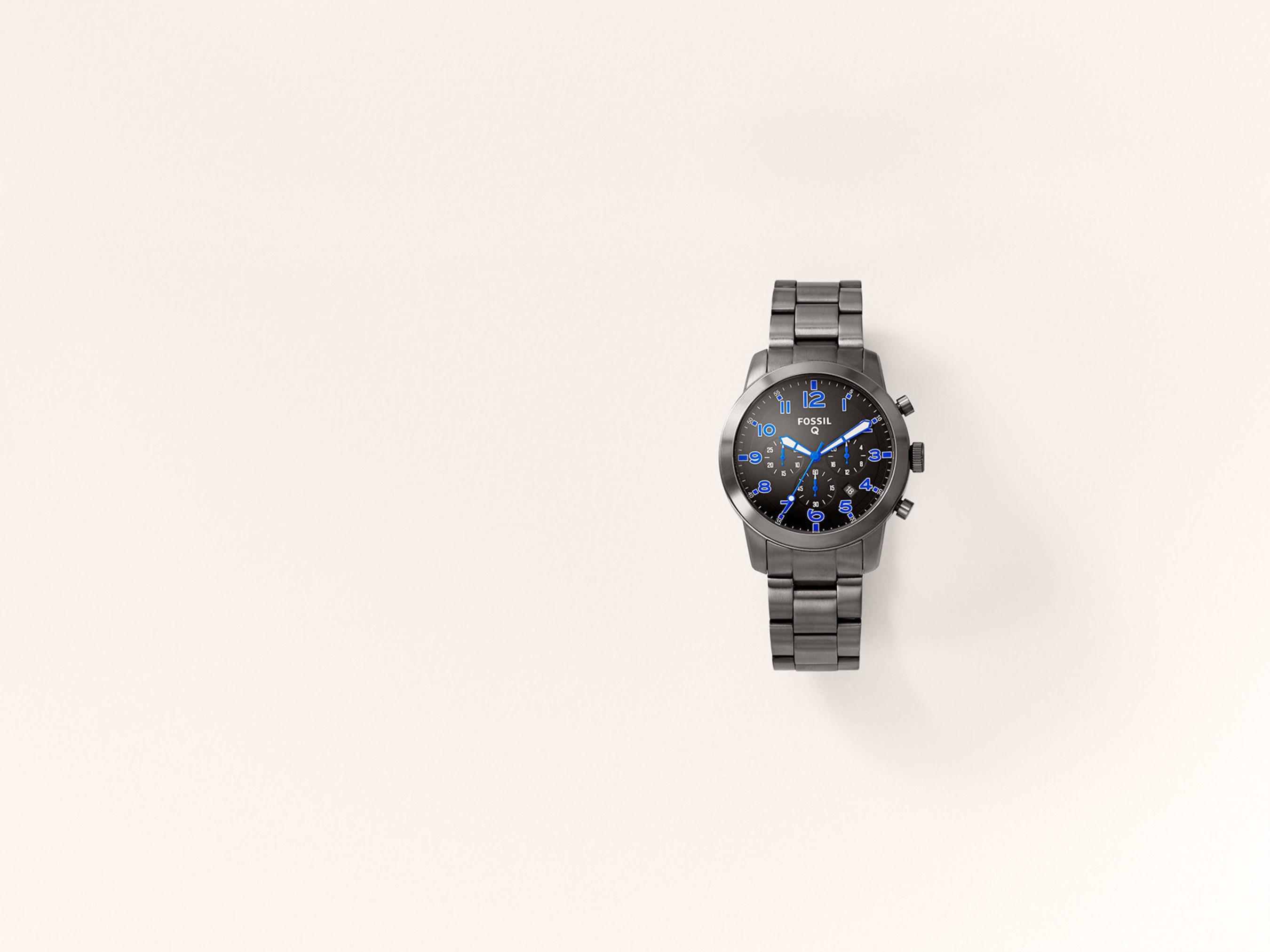 Fossil's Q54 Pilot smartwatch.