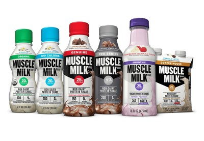The Muscle Milk brand's refreshed product lineup includes a new look in contemporary, fresh packaging.  Two new options include a Smoothie line made with Greek-style yogurt and Coffee House option with protein plus as much caffeine as a cup of coffee. Check out www.musclemilk.com for more info.