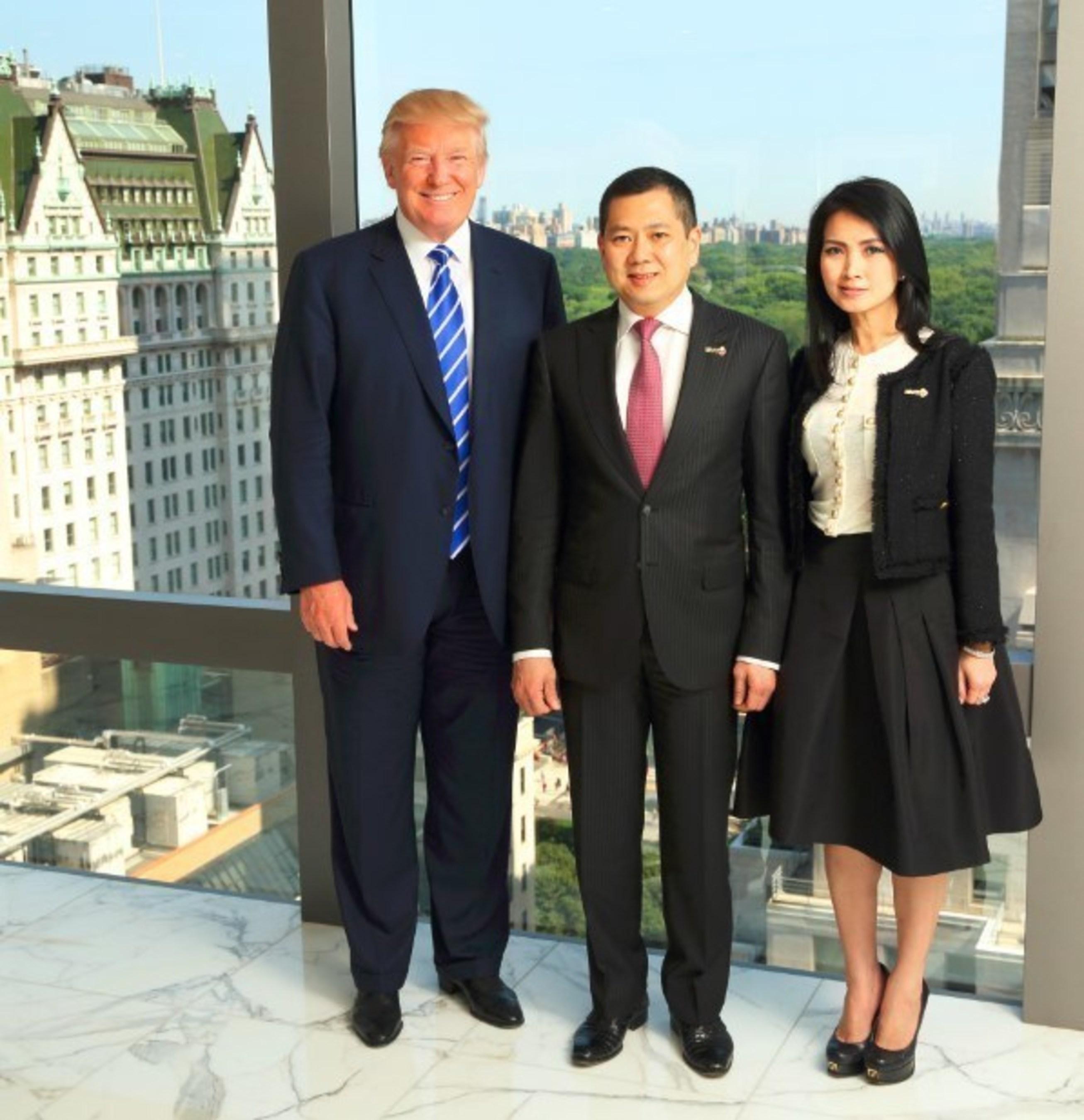 Donald J. Trump, Hary Tanoesoedibjo & Liliana Tanoesoedibjo