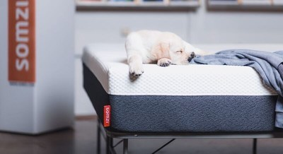 Somzi mattresses are shipped in a compressed stage right to your door. The 3-stage solid polyurethane foam mattress has a gel-swirl top layer with a unique center layer of foam where its cell structure acts like miniature shock absorbers. The foundation layer has a high compression foam to give us extra support when sitting on the edge of the bed which is unique to most foam mattresses.Somzi gives you 100 nights to try it out and if you don't like it, simply call and you can make arrangements to return it-free of charge.Made in the U.S. and ships from Texas.