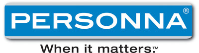 Personna(R) When it matters logo. Personna is one of the largest producers of professional, medical, and industrial blades with manufacturing facilities in North America. Personna is dedicated to creating blades and bladed products that satisfy the needs of professional, medical and industrial customers. From the most basic to the most advanced product, our goal is to deliver quality, performance and innovation.  (PRNewsFoto/Personna)