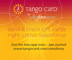 Tango Card® for Salesforce App Simplifies B2B Gift Card Giving