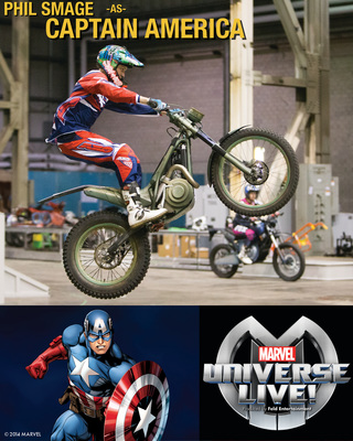 Feld Entertainment and Marvel Entertainment unveil the cast for the highly anticipated live event spectacular, Marvel Universe LIVE! (PRNewsFoto/Feld Entertainment, Inc.)