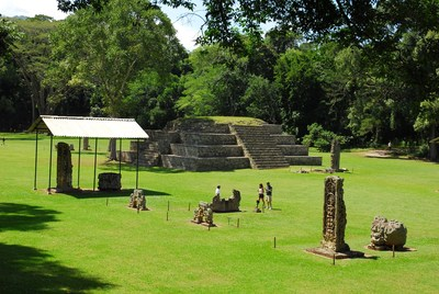 Copan Ruins in the West. Photo Credit: Juan Bendeck