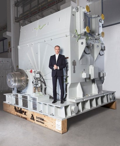 Nidec ASI announces partnership with Russian Electric Motors (REM, the joint-venture between Transneft and KONAR) in a euro125 million deal for the production and supply of 244 electric motors to the Russian oil giant to update and improve its current pipeline network of 80,000 km. The agreement with Nidec ASI includes the establishment of a new factory in Chelyabinsk, Russia and an increase in production capacity in Italy. (PRNewsFoto/Nidec ASI)