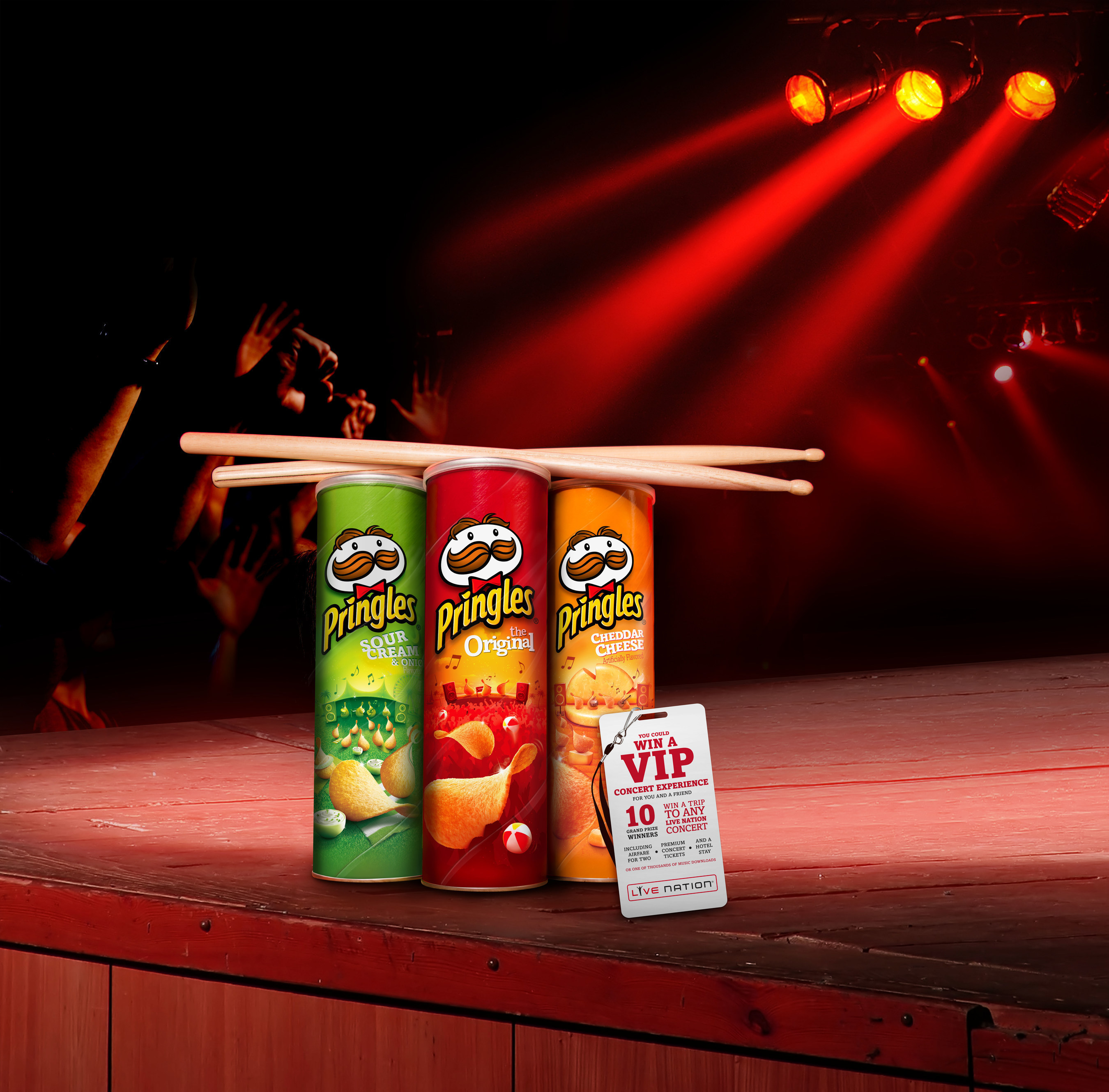 Pringles spices up the music scene with Summer Jam