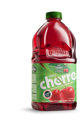 Very Cherre Tart Cherry Juice.  (PRNewsFoto/Old Orchard Brands)