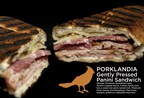 "Centerplate's ""Porklandia"" Panini, for 2014 AT&T MLS All Star Game at Providence Park in Portland tonight. (PRNewsFoto/Centerplate)"