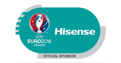 Hisense signs as the 10th Global Partner for UEFA EURO 2016(TM) (PRNewsFoto/Hisense)