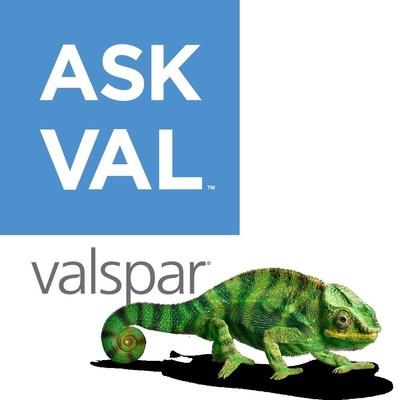 VALSPAR LAUNCHES INNOVATIVE DIGITAL SERVICE PLATFORM ASKVAL.COM(TM) Premiering Valspar's Pinterest Analyzer, powered by the Pinterest API