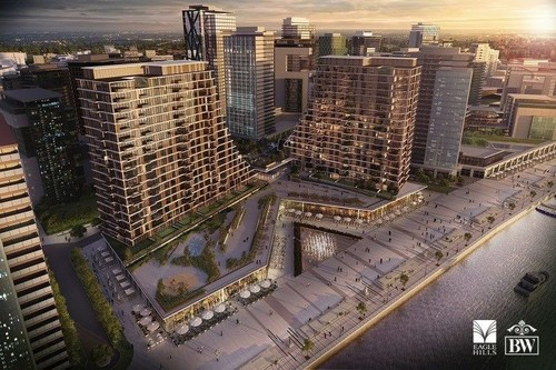BW Residences, the first residential building within Belgrade Waterfront (PRNewsFoto/Belgrade Waterfront) ...