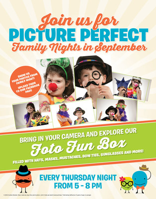 Ryan's, Old Country Buffet and HomeTown Buffet making dinnertime more snap worthy with the Foto Fun Box, available every Thursday night in September as part of Family Night. All 324 family-style restaurants will feature a Foto Fun Box filled with an assortment of props including funny hats, glasses, boas, necklaces, tiaras and more. Families may select whichever props they like and pose for photos using their own cameras. (PRNewsFoto/Ovation Brands)