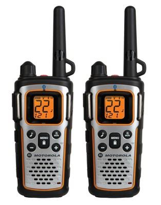 Bluetooth-Enabled Motorola Talkabout MU350R Two-Way Radios (PRNewsFoto/Motorola Solutions, Inc.)