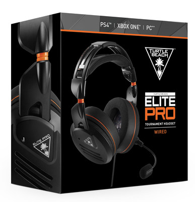 The TURTLE BEACH(R) ELITE PRO is the first gaming headset designed from the ground-up for today's generation of eSports athletes and hardcore gamers. Elite eSports performance, ultimate comfort...this is ELITE PRO! Available at participating retailers for a MSRP of $199.95.