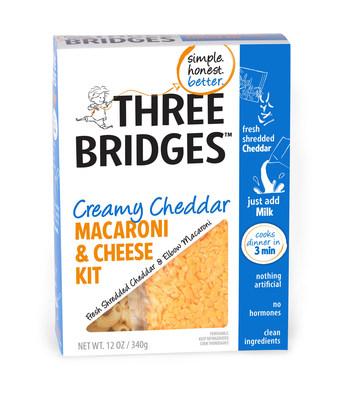 Three Bridges Creamy Cheddar Macaroni & Cheese Kit