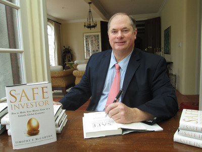 Tim McCarthy's book The Safe Investor Provides Tips to Make Money Grow in a Volatile Global Economy.  (PRNewsFoto/Tim McCarthy)