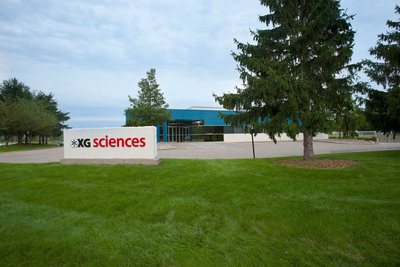 XG Sciences' Headquarters and 40,000-square-foot manufacturing facility located in Lansing, MI.  (PRNewsFoto/XG Sciences, Inc.)