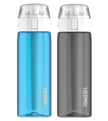 Hydration has a new hero. Genuine Thermos Brand introduces its smartest product innovation yet − the Thermos Connected Hydration Bottle with Smart Lid. Available in November, the Connected Bottle allows consumers to customize and monitor their hydration goals through the Thermos Smart Lid app and stay hydrated, no matter what life throws at them.