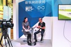 FLYPRO CEO Lin Hai in an exclusive interview with Xinhuanet