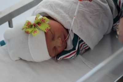 This spring, Le Bonheur Children's Hospital began its CMV testing program for all newborn babies.
