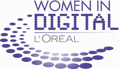 L'Oreal USA Women in Digital Logo.