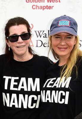 "Nanci Ryder and Renee Zellweger of ""Team Nanci"" at The ALS Association Golden West Chapter's Los Angeles Walk to Defeat ALS."