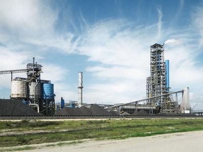 voestalpine direct reduction plant in Corpus Christi, Texas (PRNewsFoto/voestalpine AG)