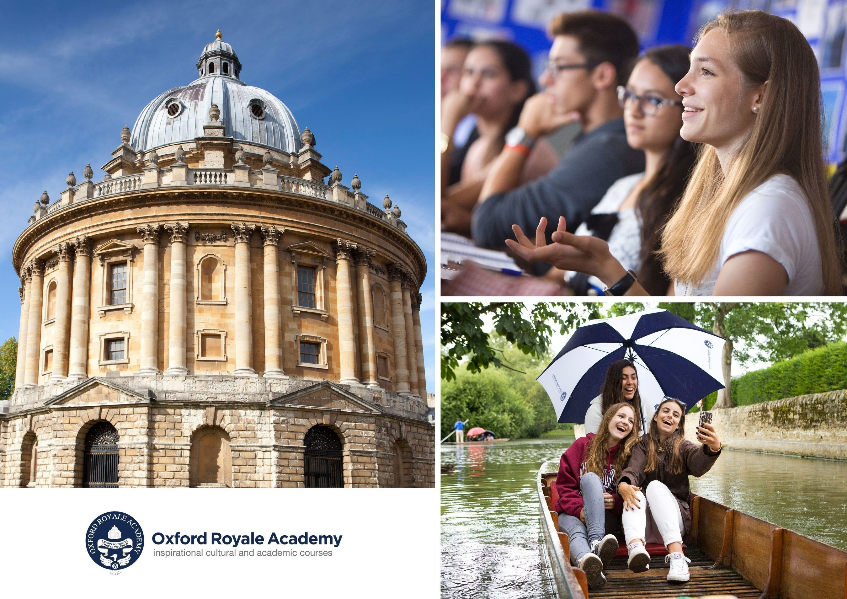 Curso de verão da Oxford Royale Academy ganha prestigiado prêmio educacional