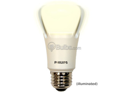 Philips 10 Watt LED L Prize Award Winning Bulb at Bulbs.com.  (PRNewsFoto/Bulbs.com)
