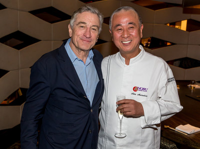Robert De Niro, Chef Nobu (c) Erik Kabik