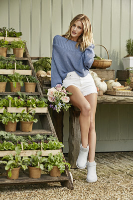 Rosie Huntington-Whiteley at Daylesford Organic Farm as UGG(R) brand's first global women's ambassador (Photo/Richard Stow)