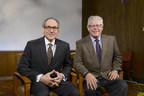 Dr. Daniel K. Podolsky, President of UT Southwestern, and Barclay Berdan, FACHE, CEO of Texas Health Resources.