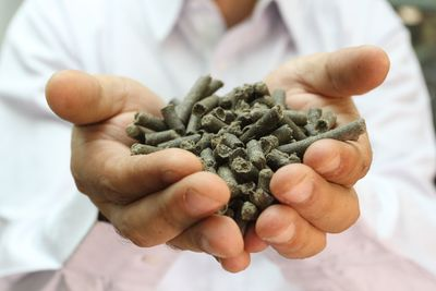 Raw material for plastic and paper industry