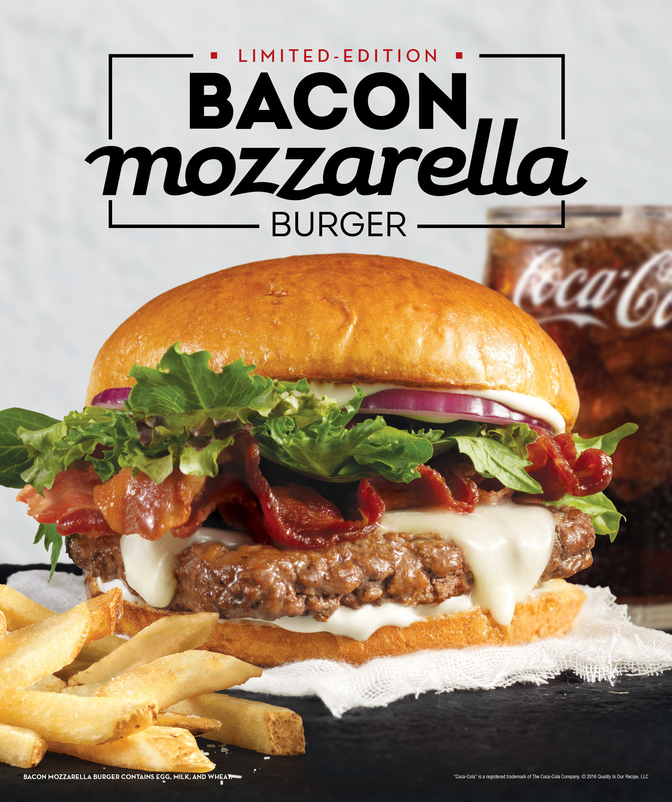 Wendy S Releases Its Next Hit Single The Bacon Mozzarella Burger