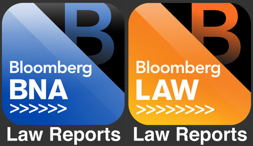 Bloomberg Law And Bloomberg BNA Launch Law Reports Apps For iPhone & iPad.  (PRNewsFoto/Bloomberg BNA)