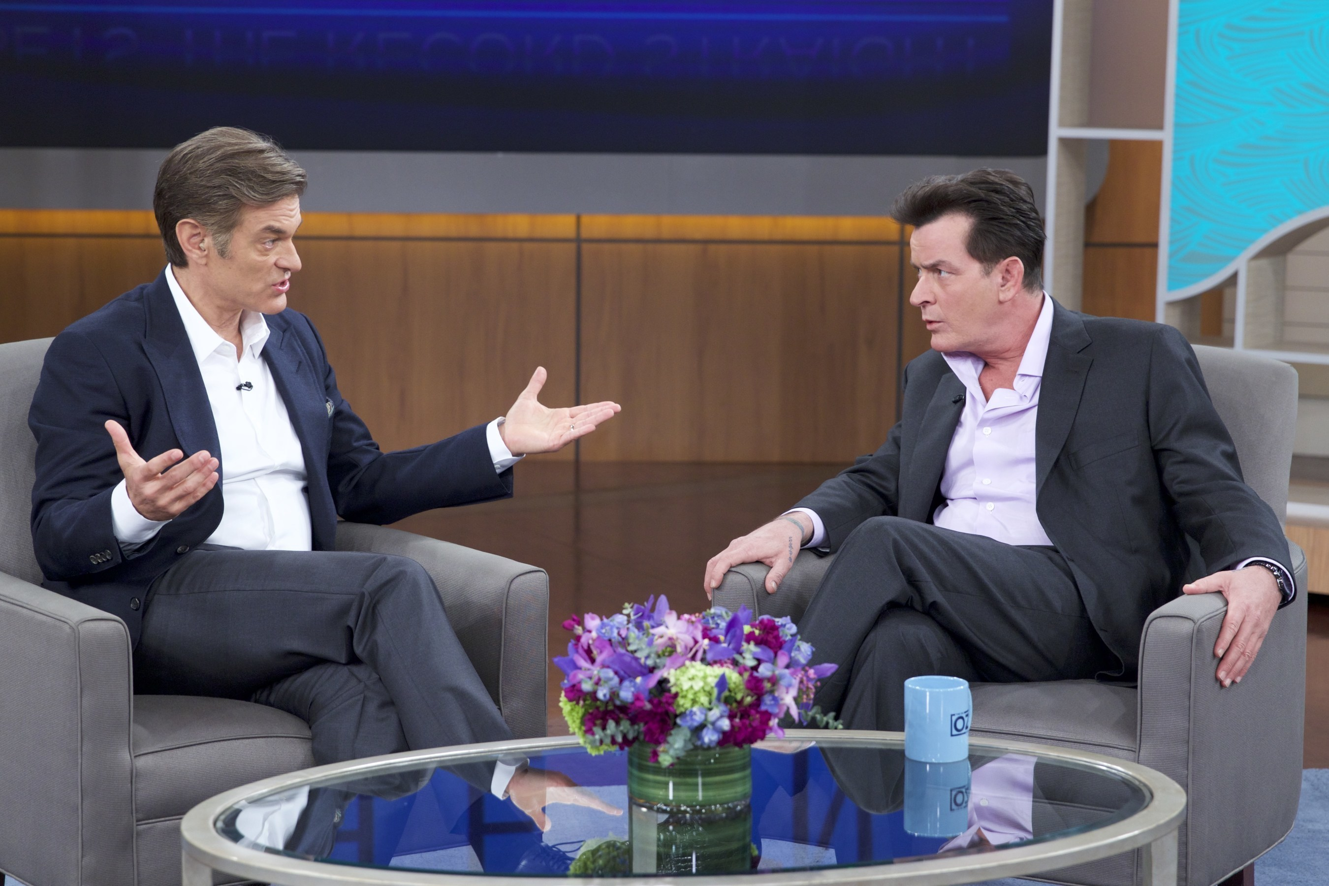 Charlie Sheen Returns To 'The Dr. Oz Show' For Another Exclusive In Depth Interview On His Experience With Dr. Samir Chachoua And His Close Call With His HIV Levels