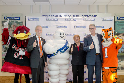 Michelin Teams Up With Clemson, USC to Create Sustainability Course