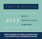 AdTheorent recognized with the 2015 North American Mobile Advertising Customer Value Leadership Award