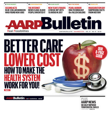 AARP Bulletin Cover December Issue