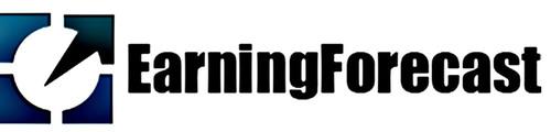 EarningForecast.com logo. (PRNewsFoto/EarningForecast.com) (PRNewsFoto/EARNINGFORECAST.COM)