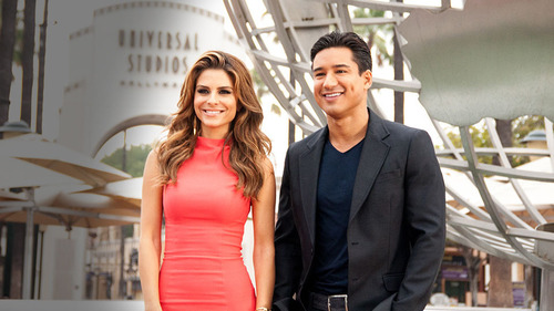 """Extra"" Moves to New Headquarters at Universal Studios Hollywood, Beginning Monday, September 9th. Hosts Mario Lopez and Maria Menounos to Broadcast Daily Entertainment Magazine Show In Front of a Live Audience at Universal Studios Hollywood, The Entertainment Capital of L.A.  (PRNewsFoto/Universal Studios Hollywood)"