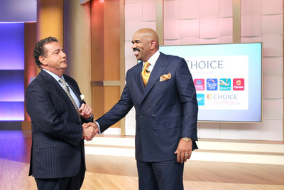 Steve Harvey and Choice Hotels CEO Steve Joyce partner to support youth